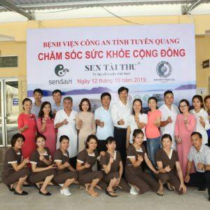 Chương trình trải nghiệm sản phẩm Hokila của Công ty TNHH Sendavi Việt Nam và trị liệu Sen Tài Thu